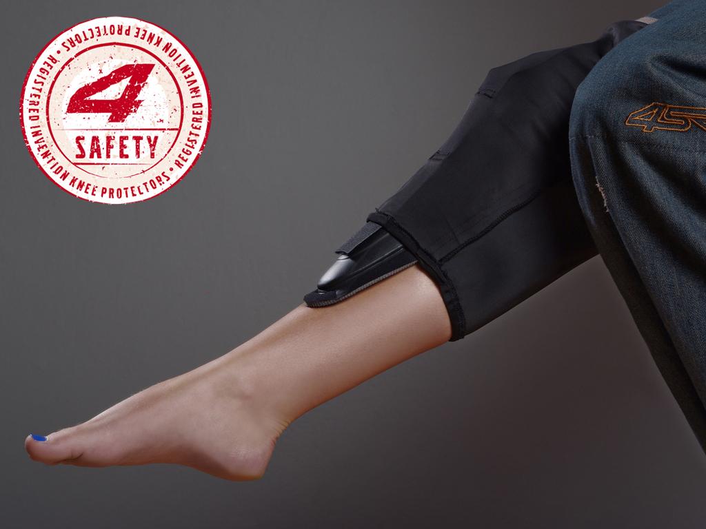 Kevlar Jean Patented System