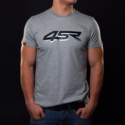 T-Shirt Silver Carbon