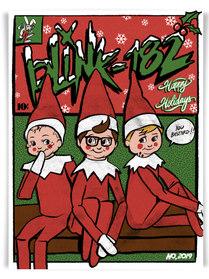 Blink-182 Elf on a shelf Poster.jpg