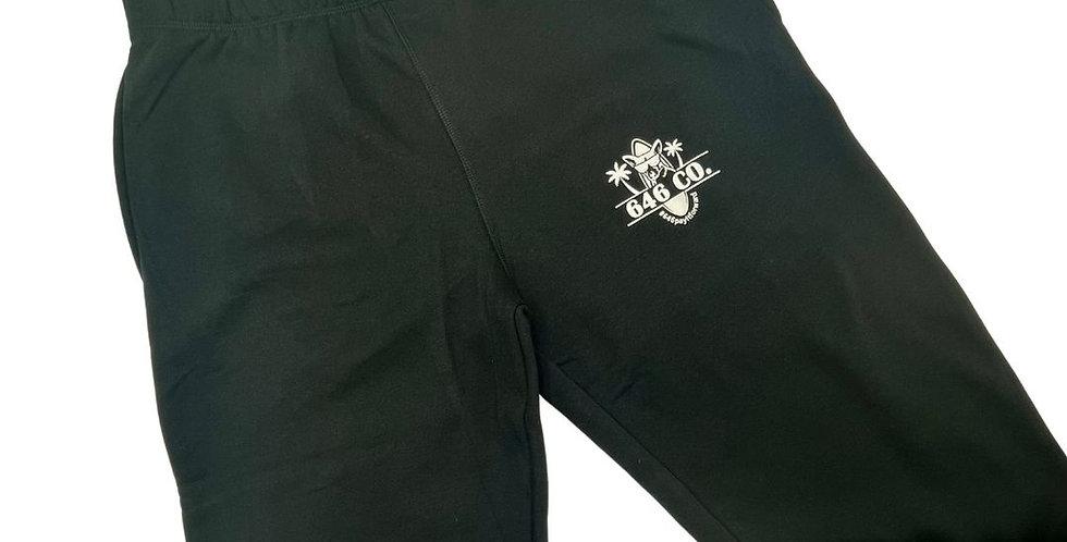 Black Zanzibar Logo Sweatpant Unisex