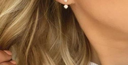 Asha Earrings Gold
