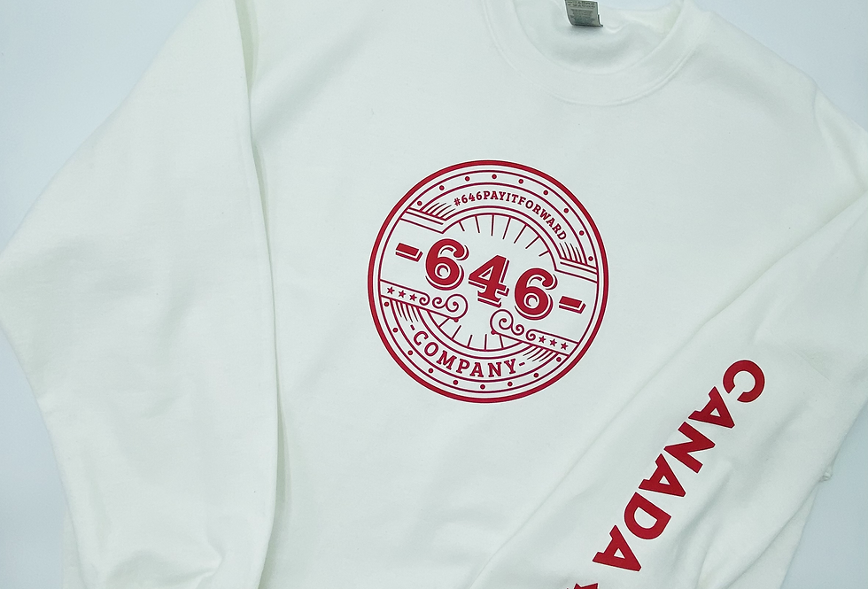 LIMITED TIME Canada Day TZ Crewneck