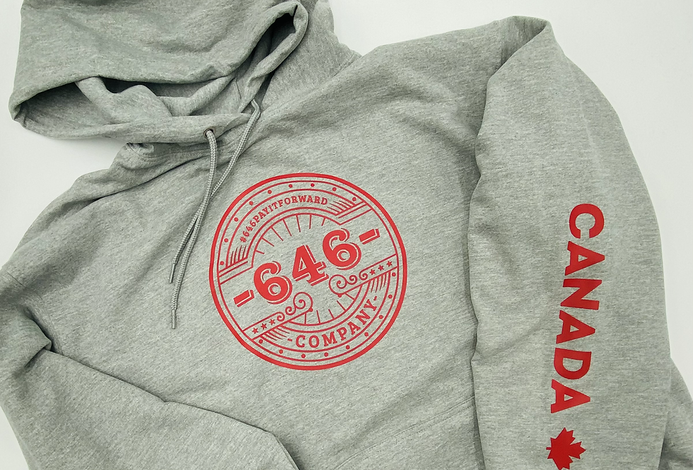 LIMITED TIME Canada Day TZ Hoodie
