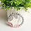 Thumbnail: Zebra Keychain Wristlet