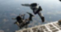Fallschirmspringer, Gegenteil von Angst