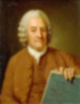 Portrait von Emanuel Swedenborg.
