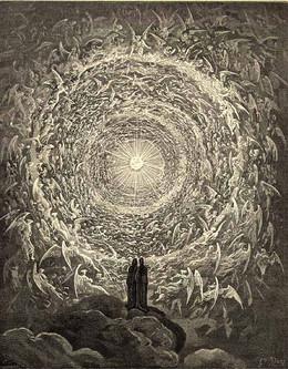 Malerei »Paradiso« von Dante/Doré, was ist Transzendenz und was lehrt sie uns?