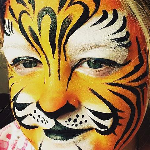 #tiger#facepaint#facepaintingideas#birthdayparty#tigerfacepaint