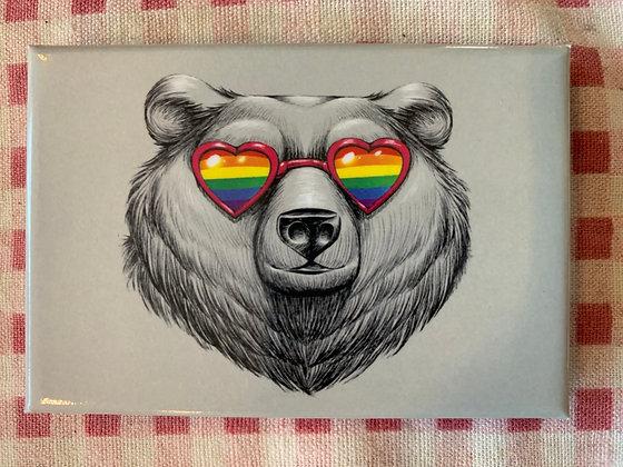 Bear Love Magnet