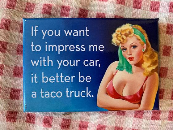 Taco Truck Magnet