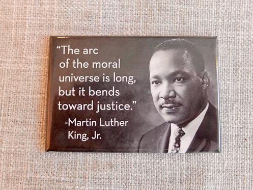 MLK Arc of Moral Universe Magnet