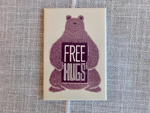 Free Bear Hugs Magnet