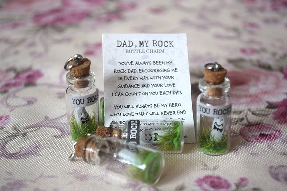 Dad Bottle Charm