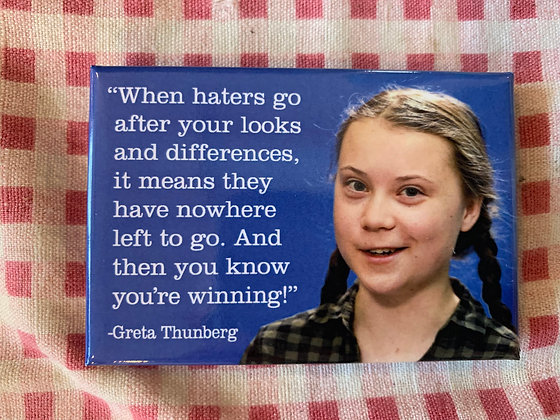 Greta Thunberg Magnet