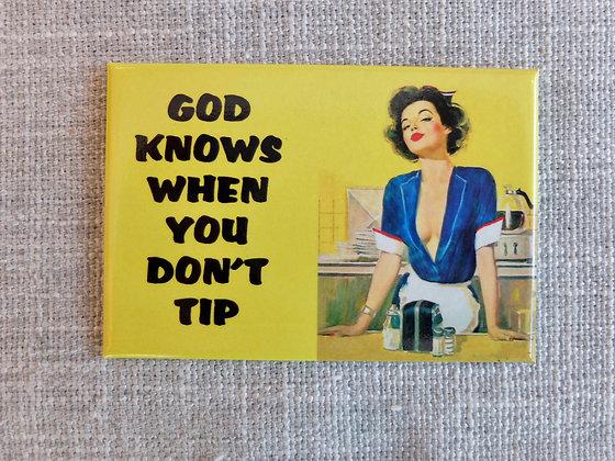 God Knows Magnet