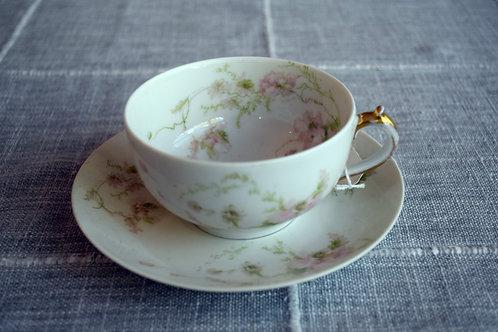 Vintage GDA Limoges Teacup