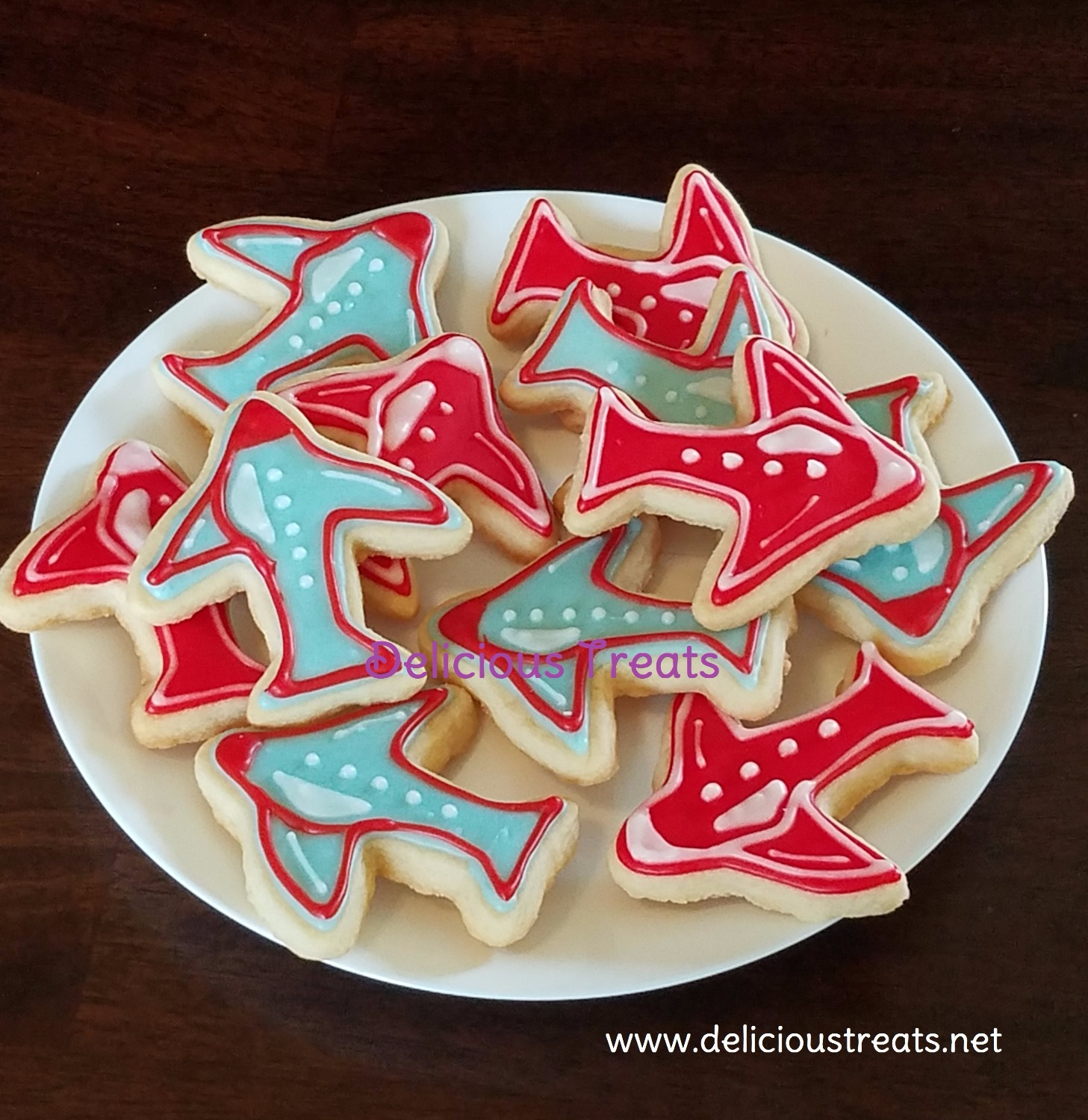 Airplane theme cookie