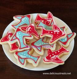 Airplane theme cookie