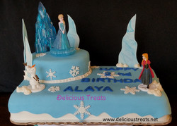 #frozenthemecake