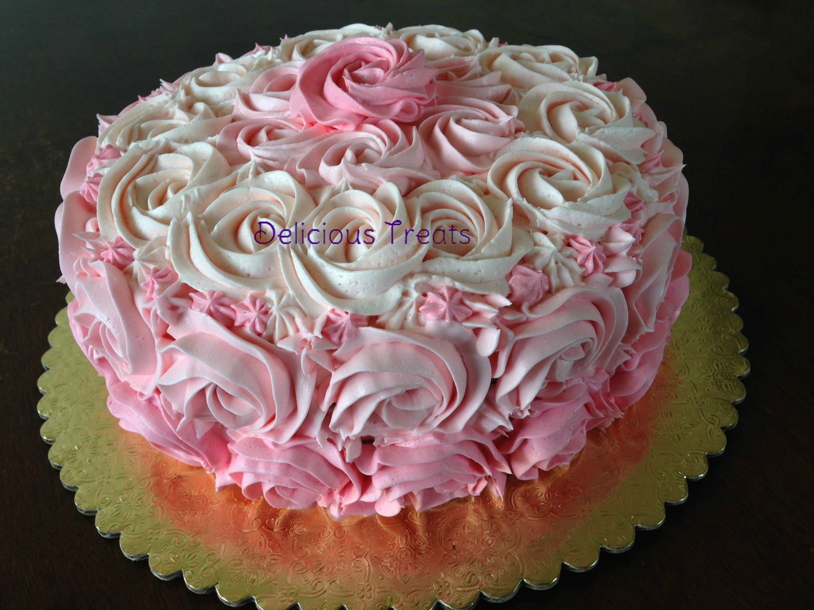 Pink Ombre Rossets...