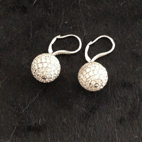 Diamond Disco Balls Earrings