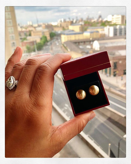 South Sea Gold Pearl Earrings