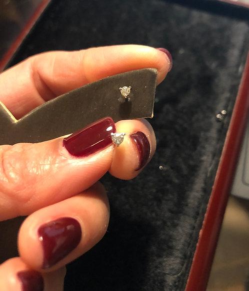 0.14 Diamond Stud Earrings