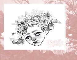 Apple tree fairy by Natasha Tsozik
