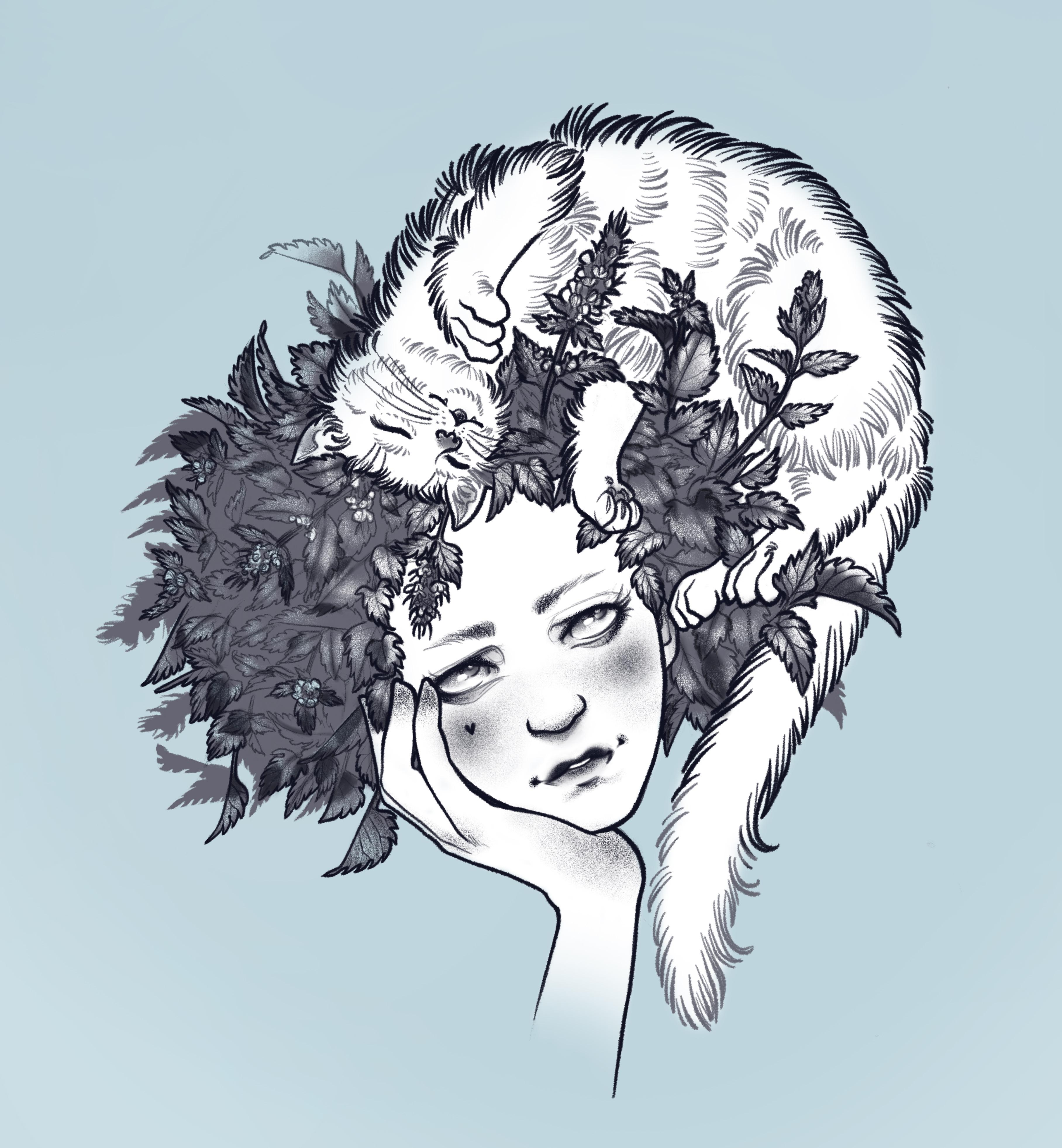 Catnip Lady by Natasha Tsozik