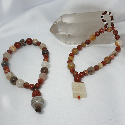 Soul Connection Set * Wrist Malas * Tranquility