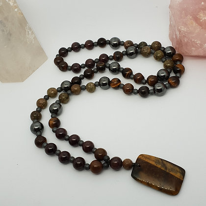 Soul Connection Mala * Masculine * Heart Centred * Passion