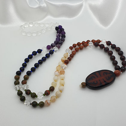 Traditional 108 Bead Mala * Chakra * All Chakras