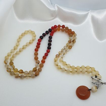 Traditional 108 Bead Mala * Wrap * Bliss
