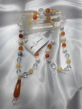 Chakra Mala * Heart centred  * Sacral, navel & crown chakra