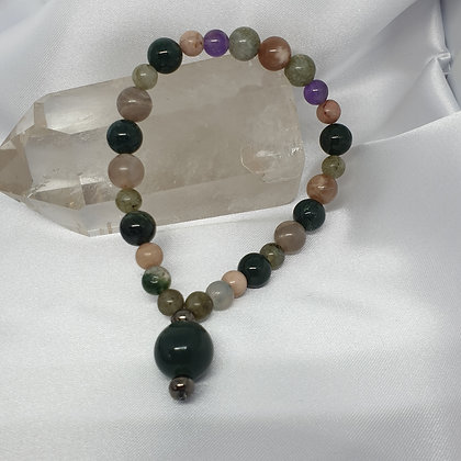 Soul Connection Mala * Masculine * Wrist * Trust