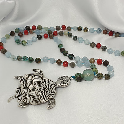 Spirit Animal Mala * Traditional * Turtle