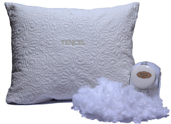 Natural Tencel/Recycled Poly Cluster Pillow