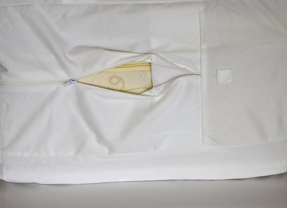 "White Bed Bug Encasement 8""-10"""