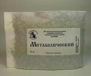 Метаболический травяной сбор, купить, Монастырская аптека.