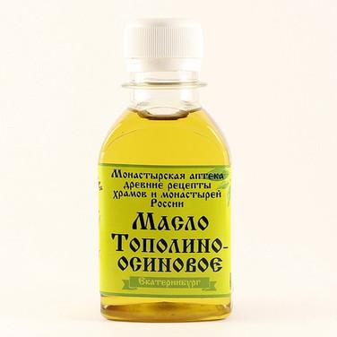 Масло Тополино-осиновое Монастырская аптека