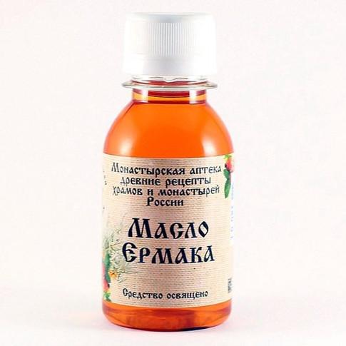 Масло ермака Монастырская аптека