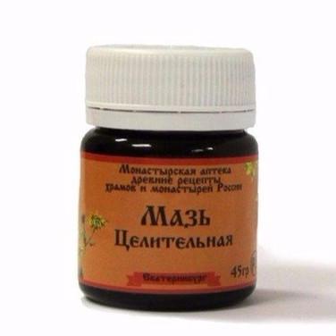 Мазь Целительная Монастырская аптека