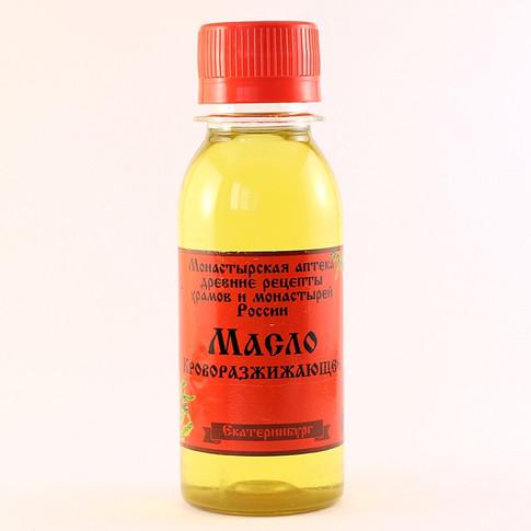 Масло Кроворазжижающее Монастырская аптека