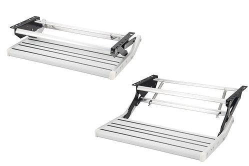 Aluminium step - 21cm - manual