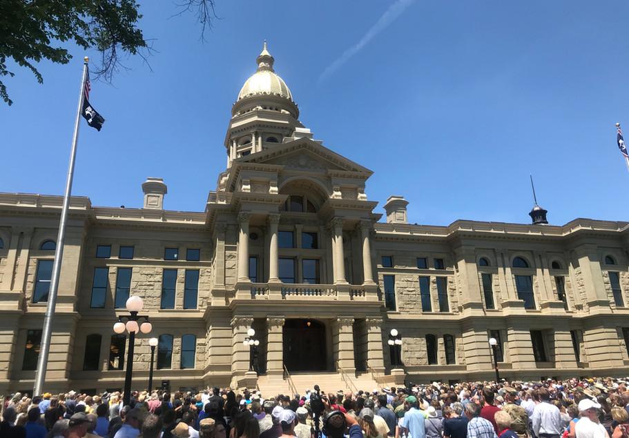 Wyoming State Capitol, Cheyenne, WY