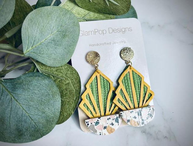 Sansevieria (Snake Plant) Earrings
