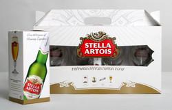 מארז כוסות בירה סטלה ארטואה