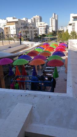 מיצב מטריות