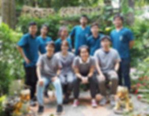 Tiger Health Care (Veterinary) Team at Tiger Kingdom Chiang Mai
