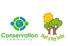 Plant a Tree Today Foundation & Conservation Communty Logos
